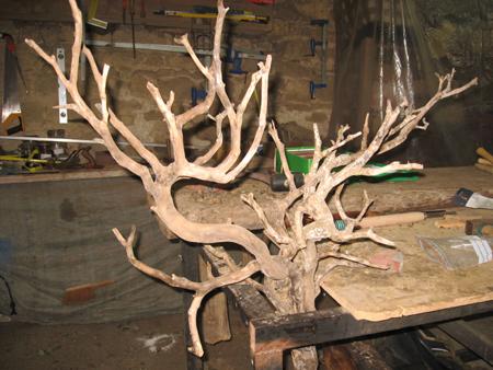 Idee deco branche de noel 1000 id es sur la for Achat branche bois